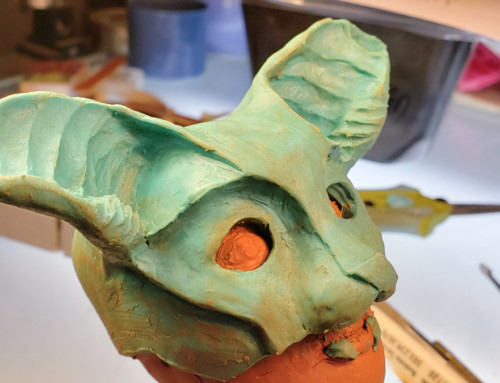 Who was that masked woman? (making a silicone mask, part I: designing)