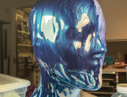Making a silicone mask 2: Engineering the mold